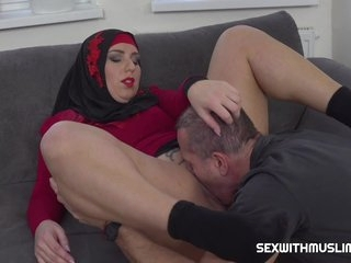 Grateful Down in the mouth Muslim Gets Boned With George Uhl